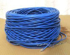 STARTECH CABLE WIRC5E350CMR, CAT 5E SOLID, BLUE