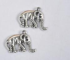 20 pcs Tibetan Silver Charms  elephant pendants necklace pendant  20mm