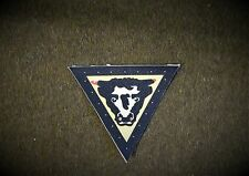 79th Armoured Division reproduction printed badges WWII for Battledress