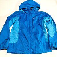 Marmot Girl's f Jacket Windbreaker Blue Size Large
