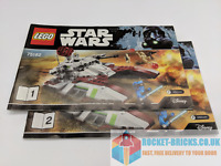 ⭐️LEGO 75182 STAR WARS REPUBLIC FIGHTER TANK - 2 x INSTRUCTIONS ONLY - NEW⭐️