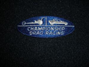 NHRA Championship Drag Racing Hat Shirt Patch Vintage 1989's