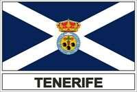 Sticker flag vinyl country  tenerife