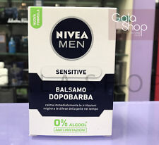 NIVEA MEN BALSAMO DOPOBARBA SENSITIVE ANTI IRRITAZIONE ROSSORE 0% ALCOOL 100ML