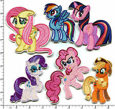 18 Pcs Embroidered Iron on 6 assorted Little Pony Fantasy Horse AP013uC