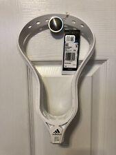 New Nwt B47051 Adidas Eqt Blockade Lacrosse Stick Unstrung Head Size 10 White