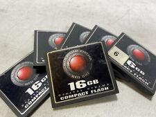 Original OEM Red One Digital Cinema 16GB Compact Flash CF Card