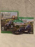 Farming Simulator 15 Microsoft Xbox One 2015 CIB Manual