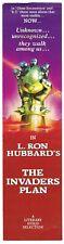 Vtg 1985 THE INVADERS PLAN L. RON HUBBARD B Dalton Books BOOKMARK Mission Earth