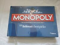 Monopoly Hasbro 2014 BB Bellevue's best Picks - Rare - Brand New and Sealed