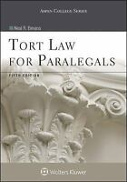 Aspen College: Tort Law for Paralegals 2015 Paperback 5th Edition Textbook
