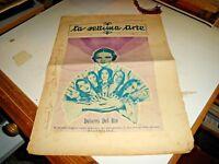 rivista LA SETTIMA ARTE anno VI° N. 11 - NOVEMBRE 1928 D. DEL RIO EVANGELINA