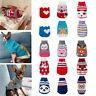 Winter Weihnachten Katze Jersey Kleidung für Tiere Mantel Pullover für Hunde