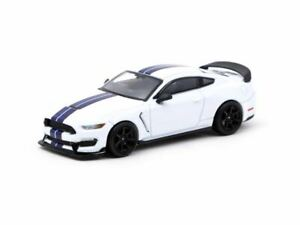 1:64 Ford Mustang Shelby GT350R -- White Metallic -- Tarmac Works