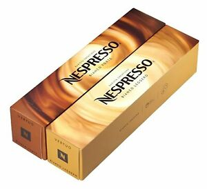 Nespresso VertuoLine Barista: Bianco Forte and Bianco Leggero 20 Capsules