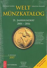 Battenberg Weltmünzkatalog 21. Jahrhundert  2001 - 2016  (3. Auflage 2017)
