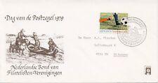 Envelop Dag van de Postzegel 1979 - Met adres / Open klep