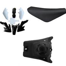 Black Plastic Fairing Fender Seat for Honda XR50 CRF50 125 SSR SDG 107 Pit Bike