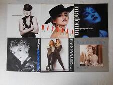 Madonna - 6 verschiedene Single Cover