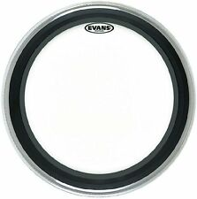 BD 18 emadcw coated Emad White Bass Drum pelliccia 18""