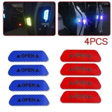 4X Open Sign Warning Mark Car Door Stickers Safety Reflective Tape Universal @LK
