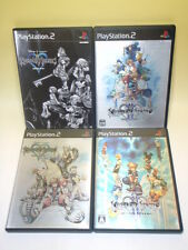 Used PS2 KINGDOM HEARTS Lot 4games SET ⅡMIX + Disney FF ENIX from Japan 828/1500