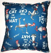 Cat in the Hat Pillow HANDMADE In USA Dr Suess Pillow