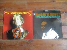 Fats Domino Story & Basie's Best Count Basie 3x vinyl LP EX greatest hits jazz