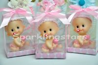 12 Baby Shower Favors Party Decoration Baby Girl Pink Gift Birthday Recuerdos