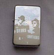 BLUES BROTHERS - chrome petrol lighter -------- [Cd:246.mc-264-lP.] mini poster