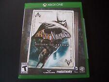 Replacement Case (NO  GAME) BATMAN RETURN TO ARKHAM XBOX ONE 1 XB1 100% ORIGINAL