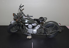1/6 scale Custom Painted WWII US Indian Mortorcycle