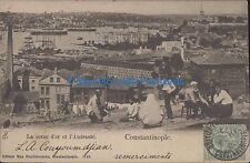 TURKEY CONSTANTINOPLE LA CORNE D'OR ET L'AMIRAUTE ED. FRUCHTERMANN 1143