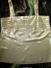 VINTAGE LOUIS FERAUD GLAMOUR  GOLD LAME TOP CAMI  PLEATED FRONT Sz 12/42 NWOT