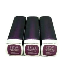 3 Pack Maybelline Limited Edition Color Sensational 995 Violet Intrigue New