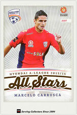 2013-14 A League Trading Cards All Stars AS7 Marcelo Carrusca (Adelaide United)