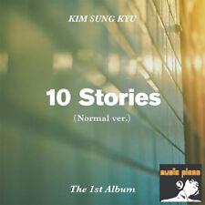 KIM SUNG KYU 1ST ALBUM [ 10 Stories ] NORMAL VERSION ~ INFINITE, KIM SUNGKYU