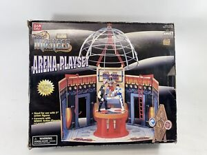 WMAC MASTERS Arena Playset Bandai 1996 With Box  99% Complete