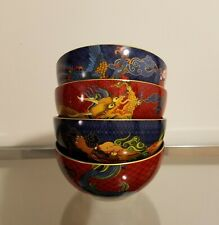 Williams Sonoma Lunar Noodle Bowl Set of 4 Mixed NEW
