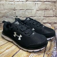 Under Armour Charged Assert 8 Mens Black Running Shoes Size 12.5