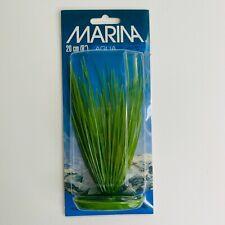 """New listing Marina 8"""" Plant AquaScraper Green Plastic Aquarium Fish Tanks Plants Nib"""