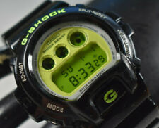 Casio G-Shock DW6900CS-1 Men's Watch Neon Green NEW BATTERY!