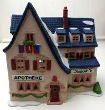 Dept 56 Alpine Village ~ Apotek and Tabak ~ Mint In Box 65404