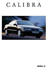 Prospekt Opel Calibra 1994 Autoprospekt 10 94 Auto brochure Auto PKW Deutschland