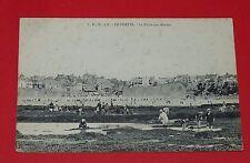 CPA CARTE POSTALE 1908 FRANCE PAS-DE-CALAIS 62 LE PORTEL PECHE AUX MOULES