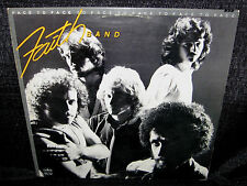 FAITH BAND Face To Face (1979 U.S. Gold Foil Stamped Promo LP w/Lyric Sleeve)