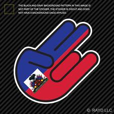 Haitian Shocker Sticker Die Cut Decal Self Adhesive Vinyl Haiti HTI HT