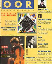 MAGAZINE OOR 1991 nr. 14/15 - BONO/BLONDIE/PERE UBU/JONI MITCHELL/JELLO BIAFRA