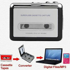 New USB Cassette Capture Recorder Radio Player Tape to PC Portable Converter
