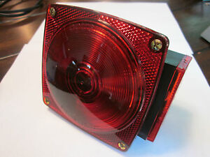 """Right Hand Optronics Tail Turn Light 4.5 """" CamperTrailer RV  NOS"""